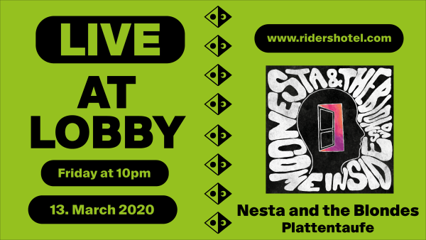 Nesta and the Blondes Live @ Lobby