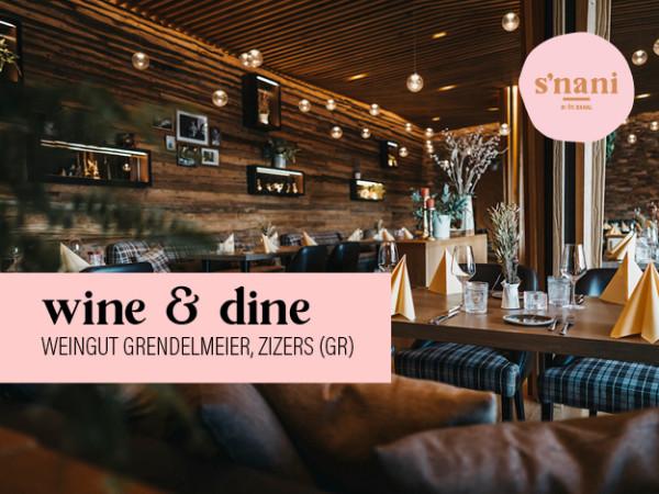 s'nani Wine & Dine with Grendelmeier Winery