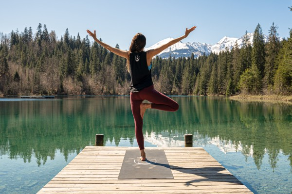 Yoga open level at Stenna Flims