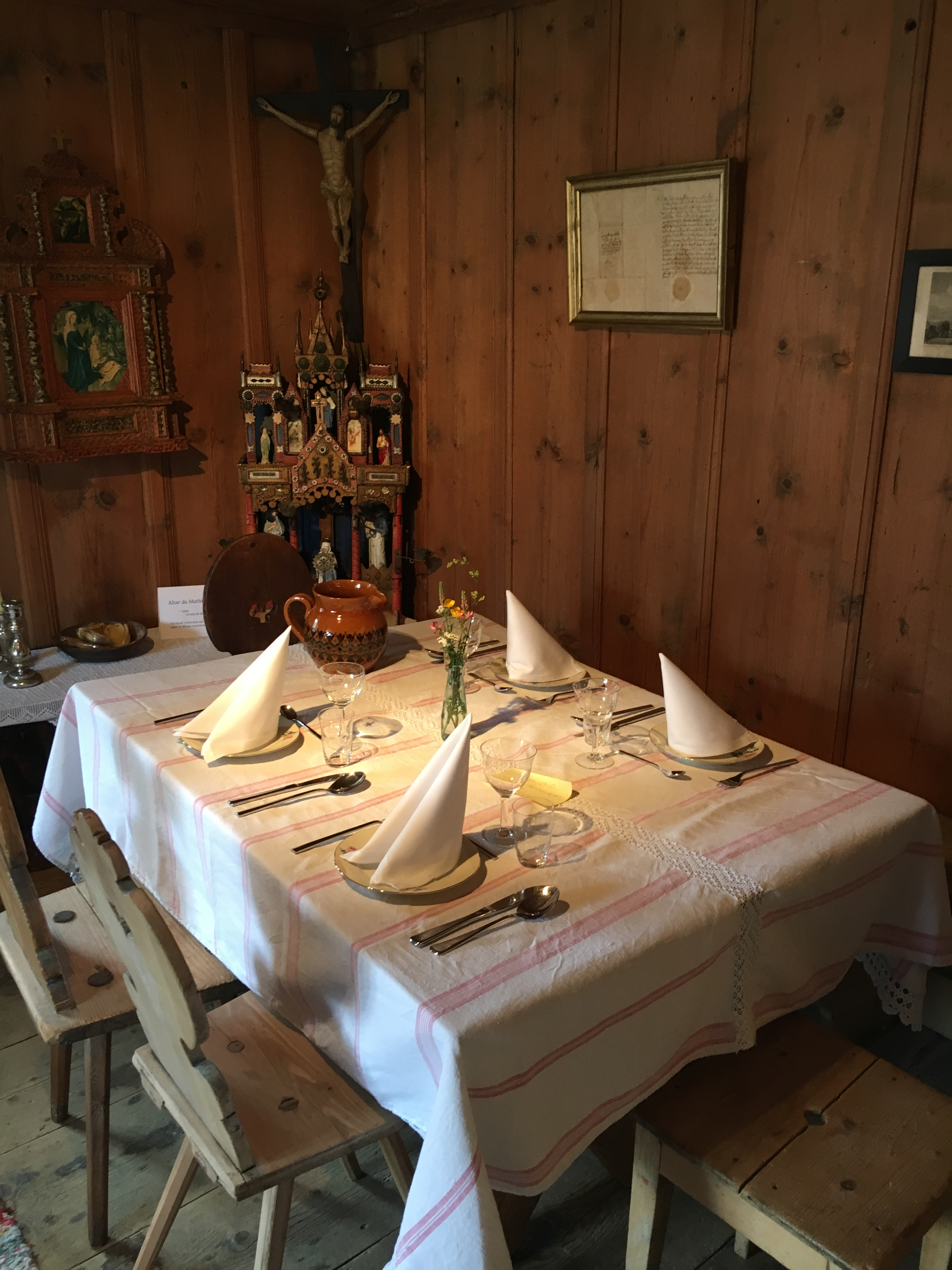 Museum Laax - Essen wie zu Grossmutters Zeiten
