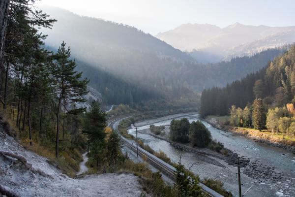 Discovery Hiking Shuttle Rhine Gorge Pure