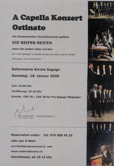 """A capella concert ostinato """"THE TIRES TIRES"""""""