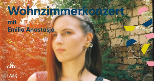 Living room concert with Emilia Anastasja