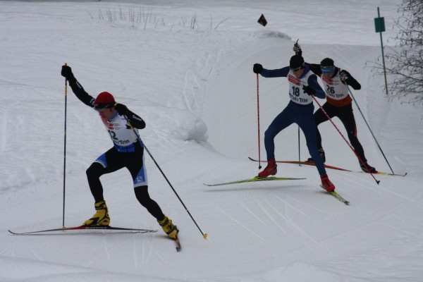 16th cross-country skiing inferno Flims - Trin