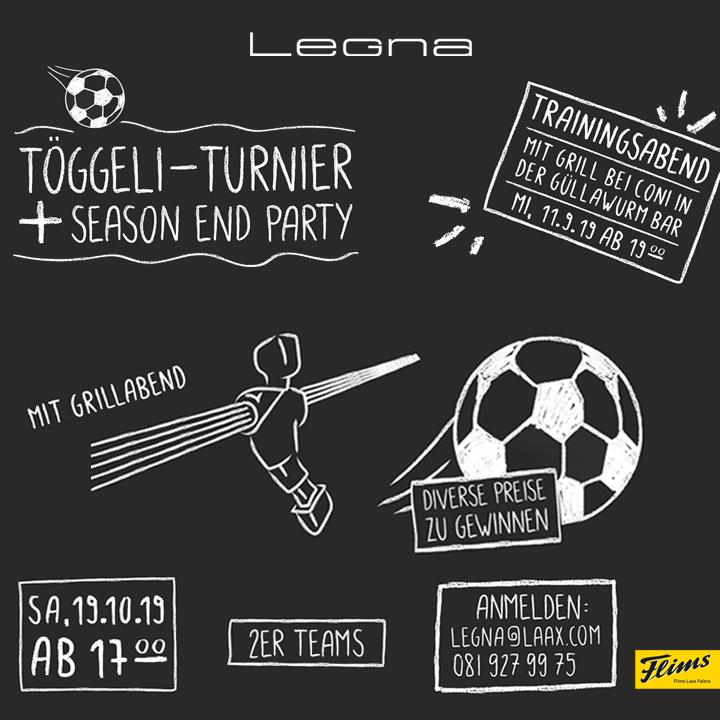 Table Soccer Comp. & Season End Party @ Legna Bar