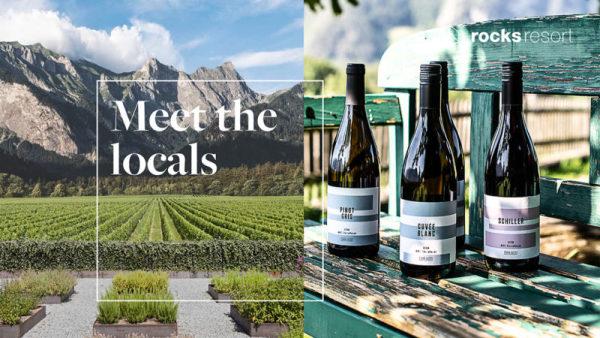 Meet the locals - Von Salis wine tasting