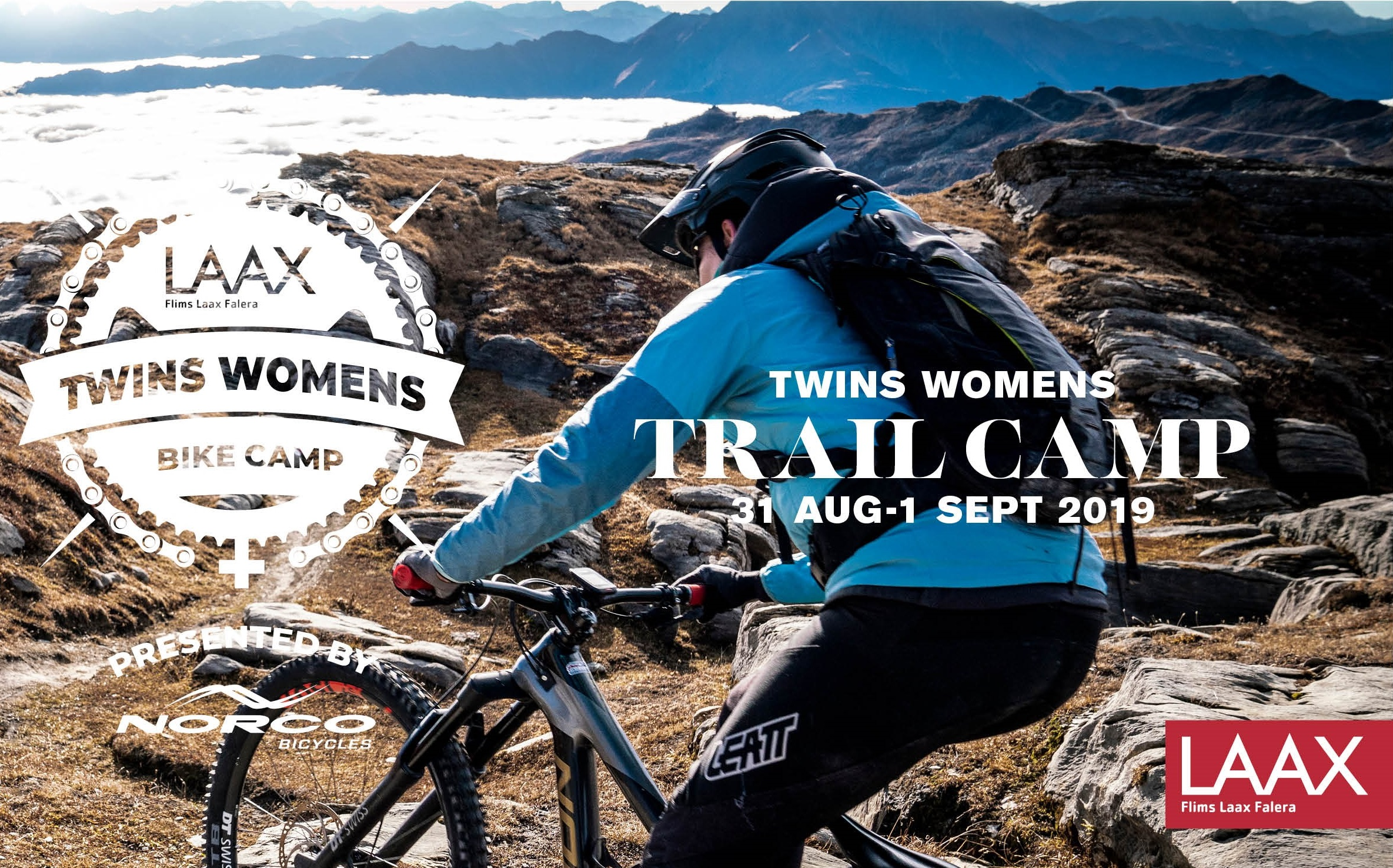 Twins Women's Bike Camp (Trail Camp)