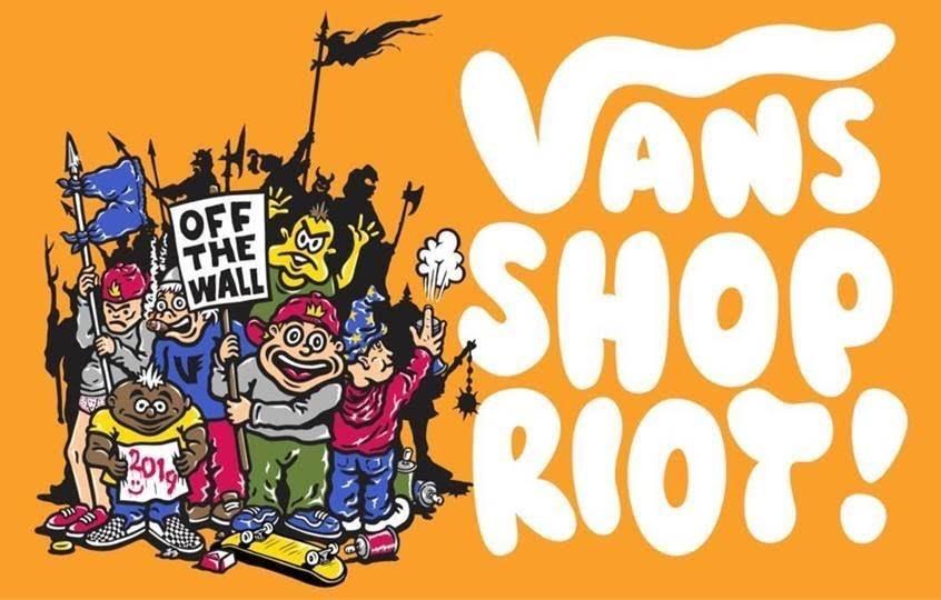 Vans Shop Riot After Party with Dj Dr. Fad-R