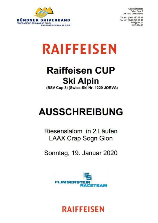 BSV Raiffeisen Cup 3