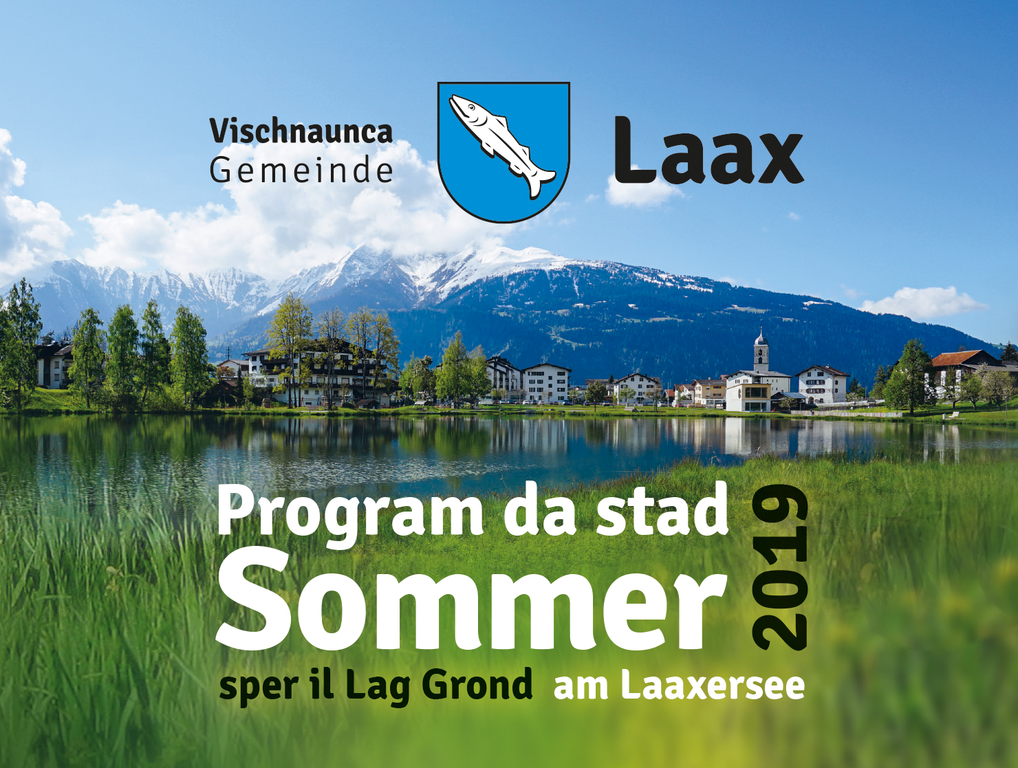 Summer programme at lake Laax