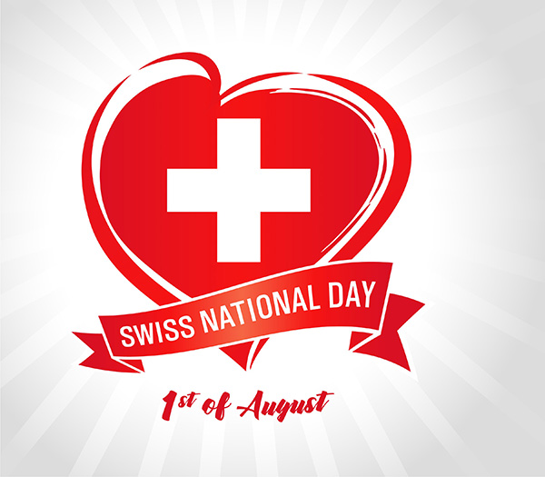 Swiss National Day in the Waldhaus Flims