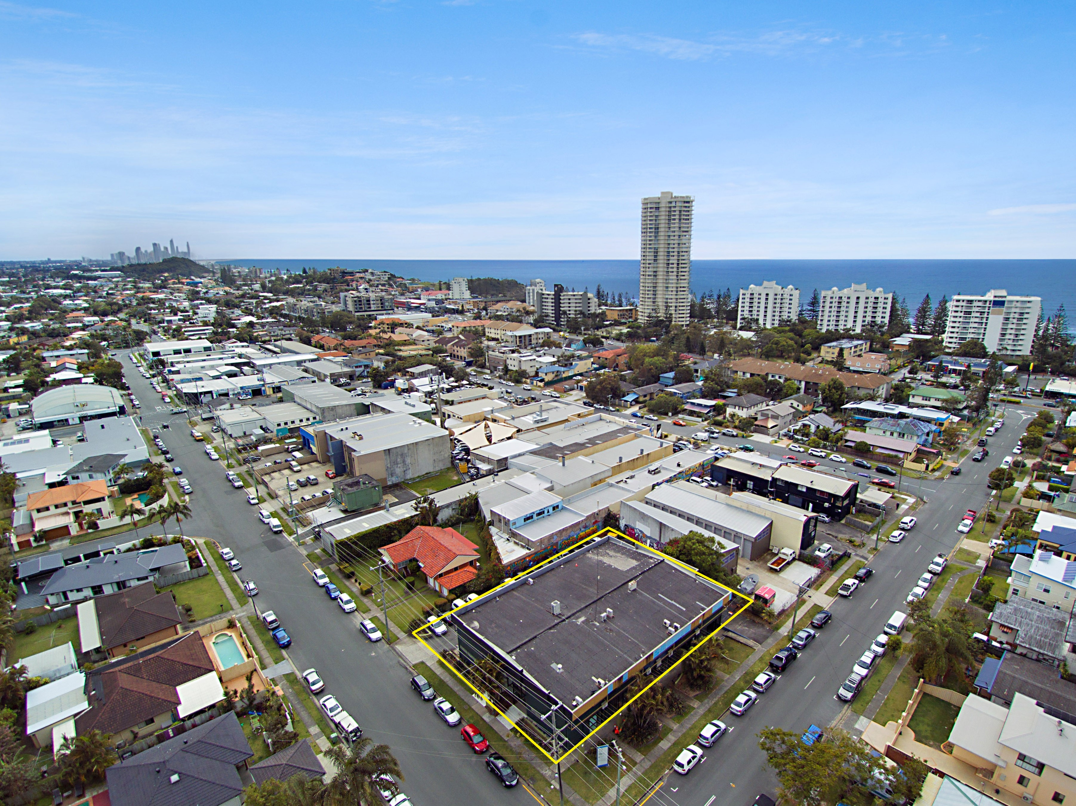 Gold coast commercial property