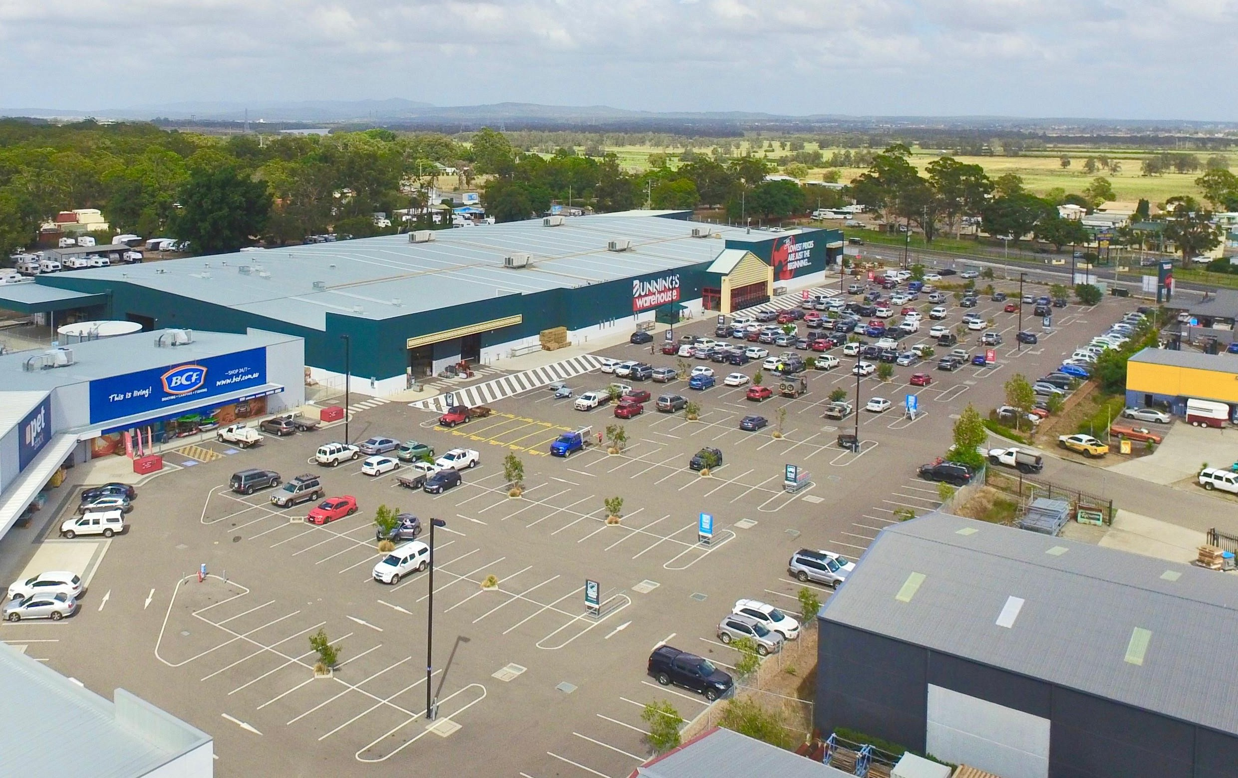 Bunnings centre
