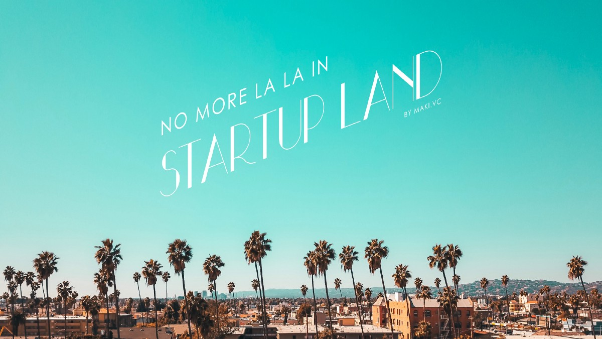 Supporting startup ecosystem during recession
