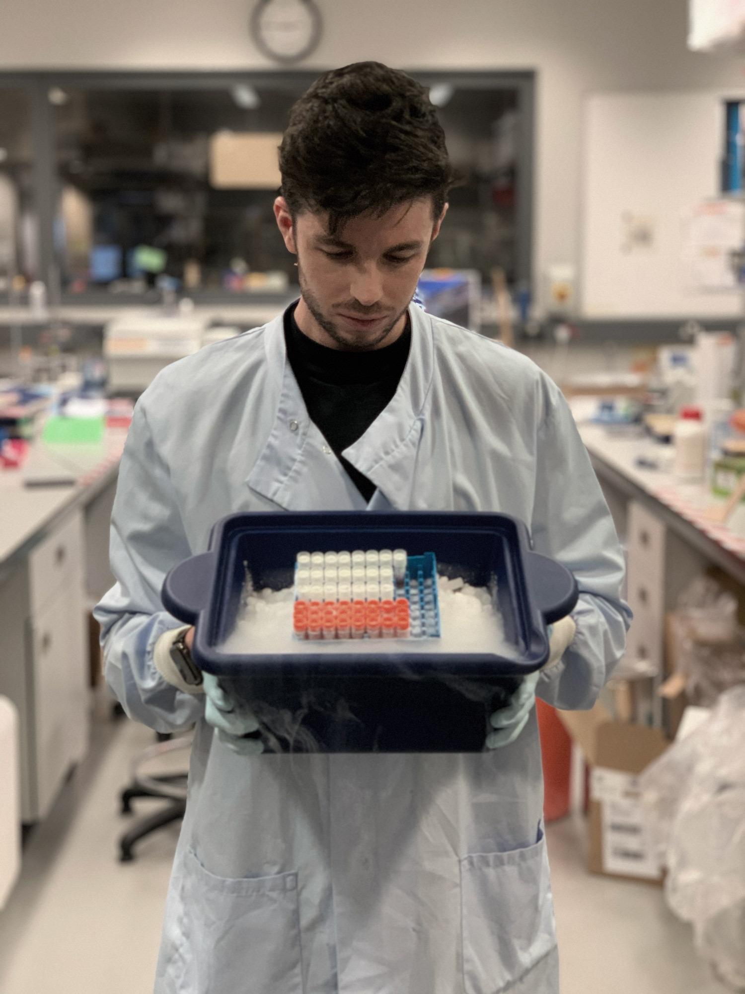Joshua Blight Co-founder of Baseimmune