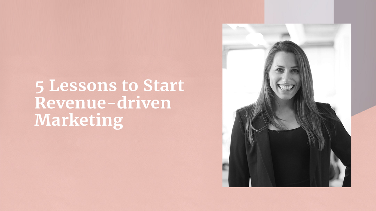 How do you make marketing measurable and grow your revenue? Happeo's CMO shares her learnings on revenue-driven marketing.