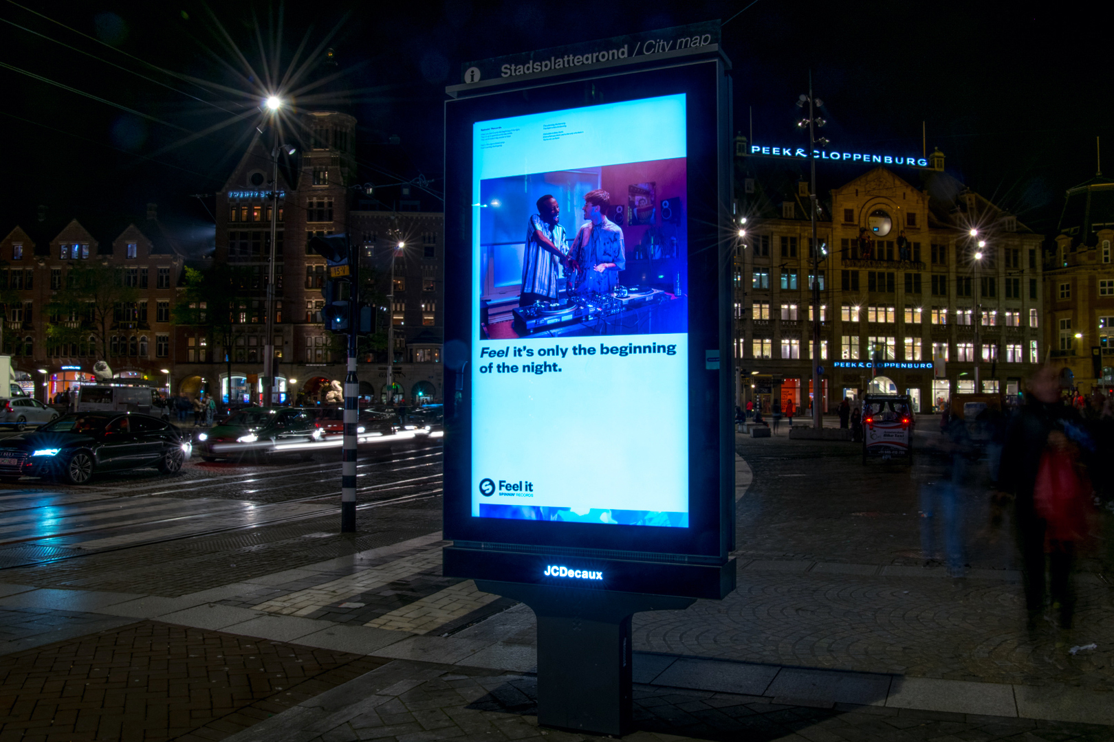 Spinnin Billboard Dam Square