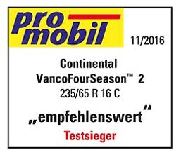 Continental Vanco™ FourSeason 2 235