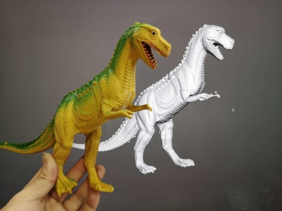 Dinosaur Toy Scanning