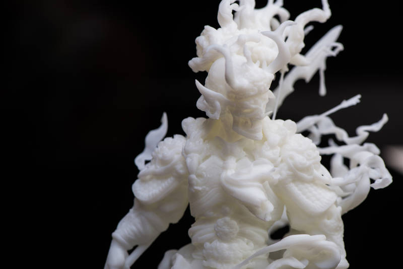 3d printed zbrush model 2019