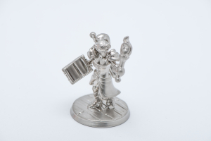 Hero forge figurine silver 3