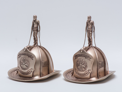 3D printed Trophies for NYFD.