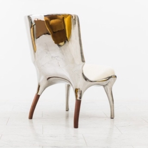 3d printed and metal plated furniture