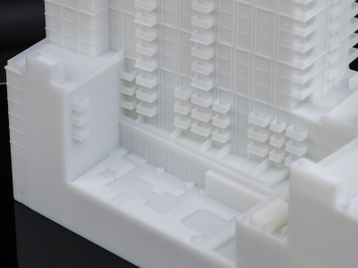 3d printed large building details
