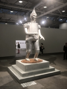 Tin Man Sculpture for Artist Coco Fusco