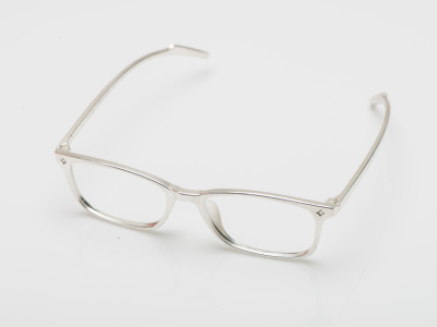 Metal plated eyeglasses