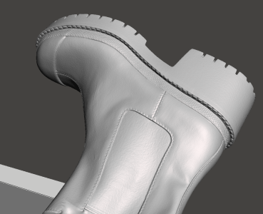 3D scanning shoes