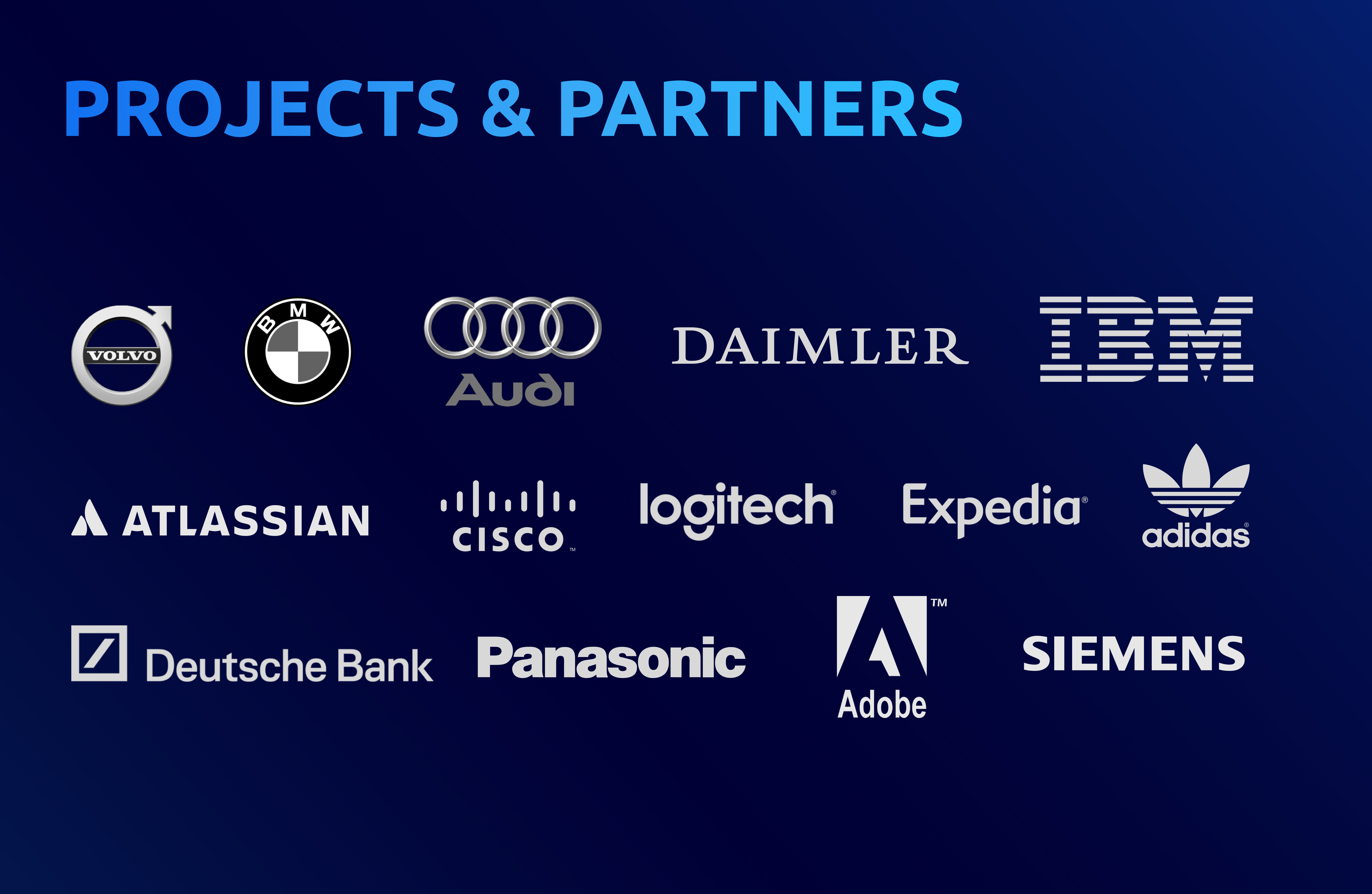 Projects and Partners