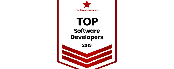 inVeritaSoft is recognized by TechReviewer as a Top Software Development company in 2019
