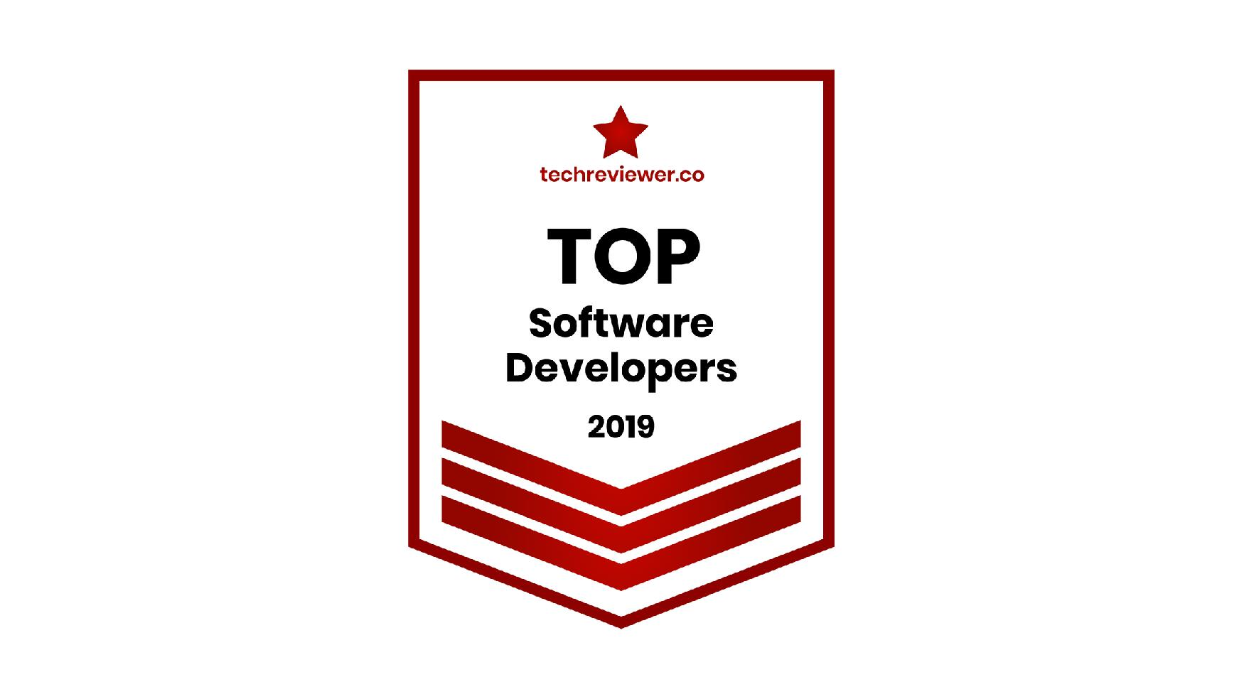 inVeritaSoft is recognized by TechReviewer as a Top Software Development company in 2019-page-001