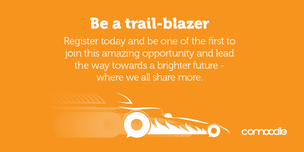 Be a trail-blazer