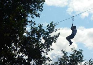 High Ropes Course at Eshton Grange