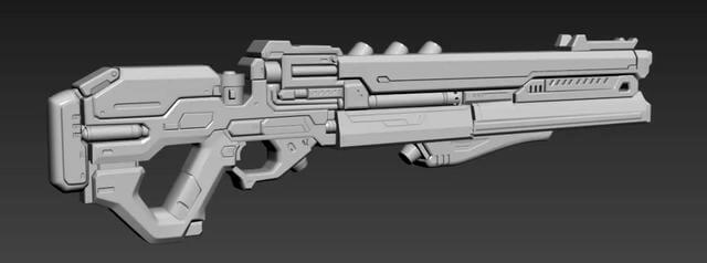 3ds Max Tutorial The Production and Sharing of Sci-Fi Guns 1