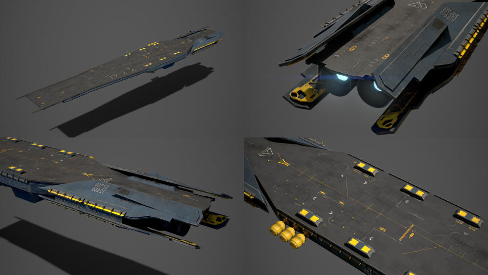 How to Build a Magnificent Space Carrier in UE4