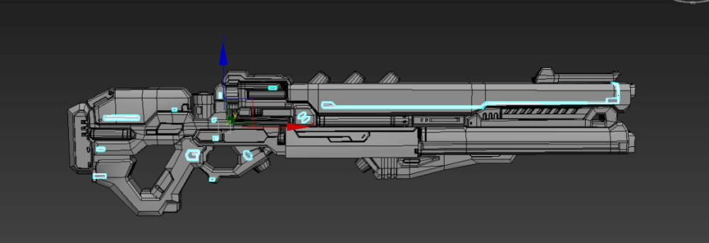 3ds Max Tutorial The Production and Sharing of Sci-Fi Guns 15
