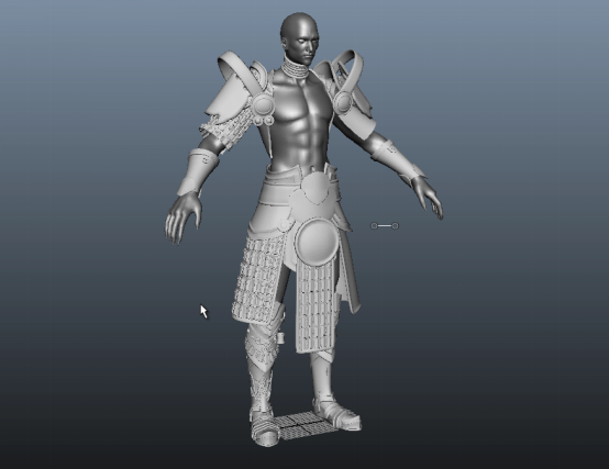 Behind the Scenes Demon Warrior Character 2