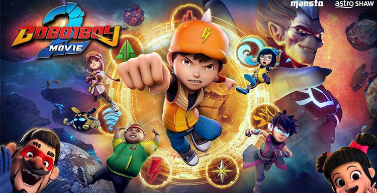 BoBoiBoy Movie 2 To Be Released In 5 Countries With Much Sensation In This Summer