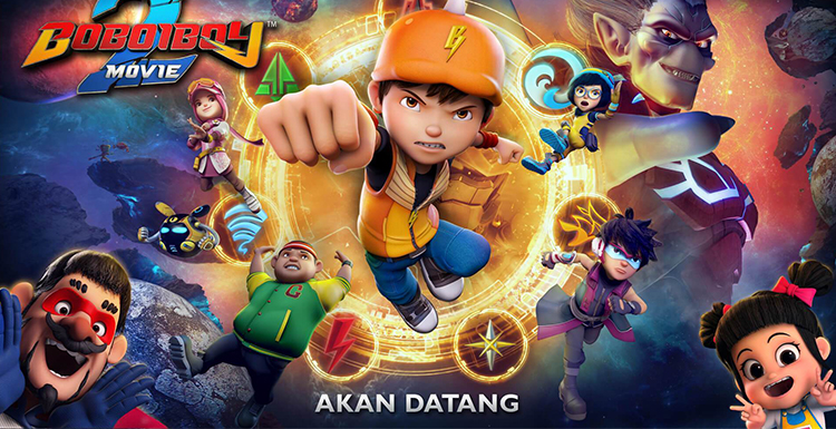 Interview with Boboiboy Movie 2 and Fox Renderfarm at Kre8tif! 2019