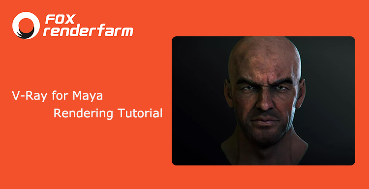 V-Ray for Maya: Male Character 3D Avatar Production
