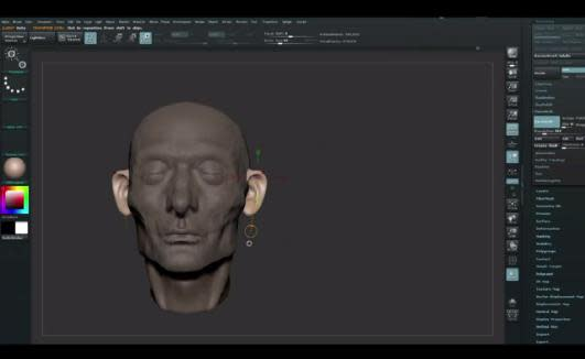 ZBrush Tutorials How to Build Facial Muscles and Facial Features with ZBrush -0