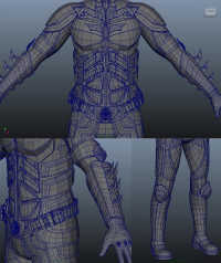 Maya Tutorials: Production Process of 3D Artwork Batman(2)