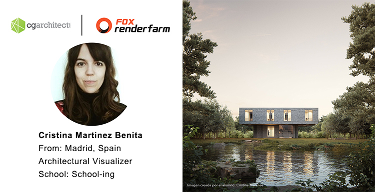 Interview with Cristina Martinez Benita: Contrast between Strength and Lightness in ArchViz