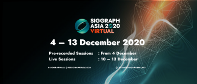 Pack Your Virtual Bags & Get Ready for SIGGRAPH Asia 2020