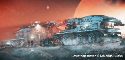 How to Create an Epic Leviathan Rover in Maya and ZBrush