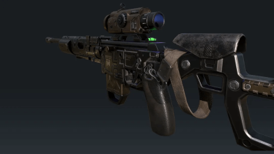 3ds Max Tutorials: Making of firearms(1)