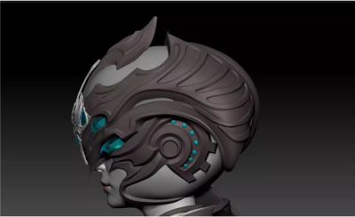 ZBrush Tutorials: The Making of Hard Surface Models(2)